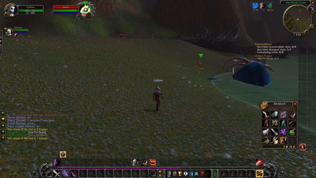 Adventures of Gallow the Forsaken Warrior • WoW Classic • Barrens Chat