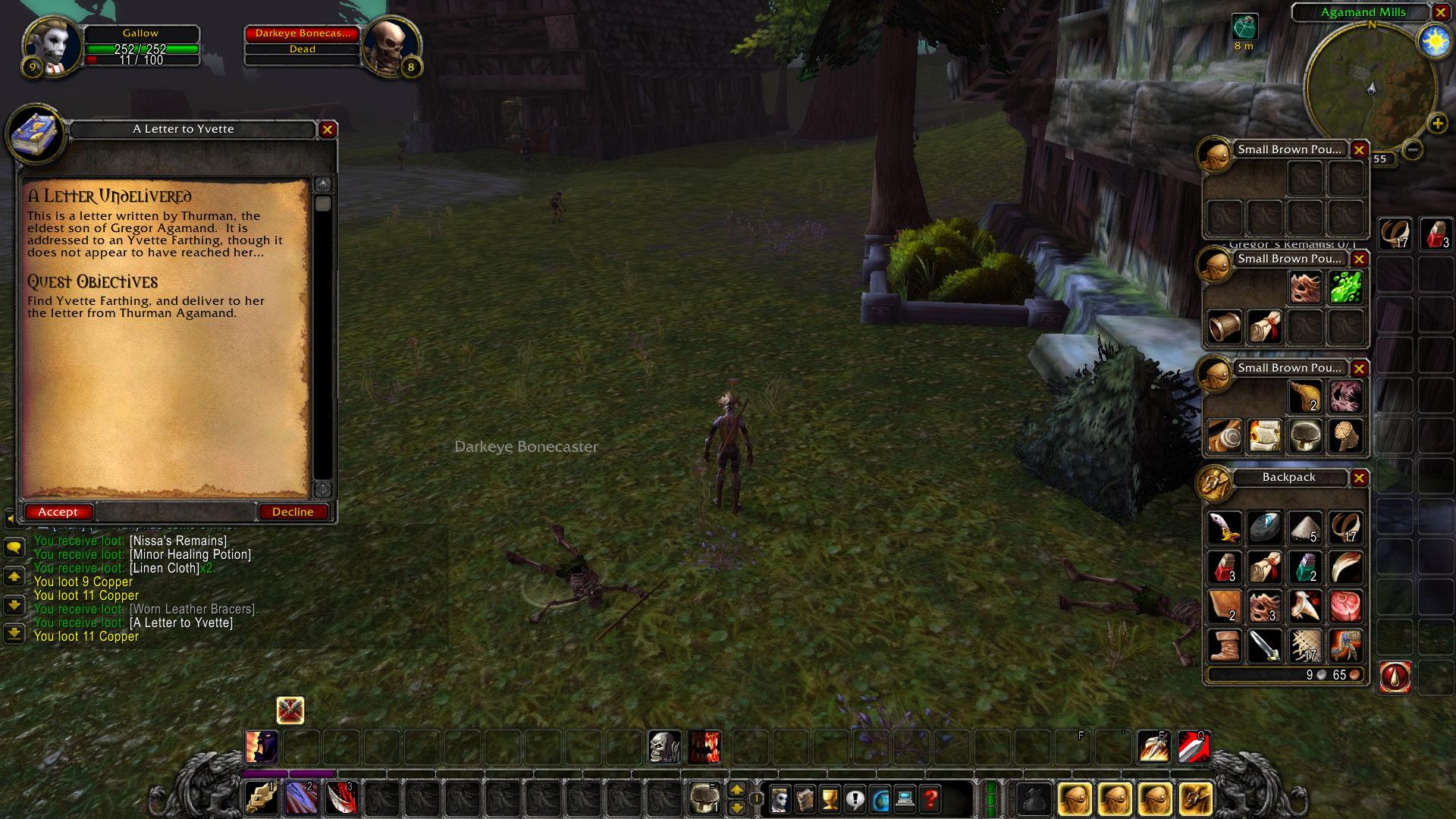 Adventures of Gallow the Forsaken Warrior • WoW Classic • Barrens Chat