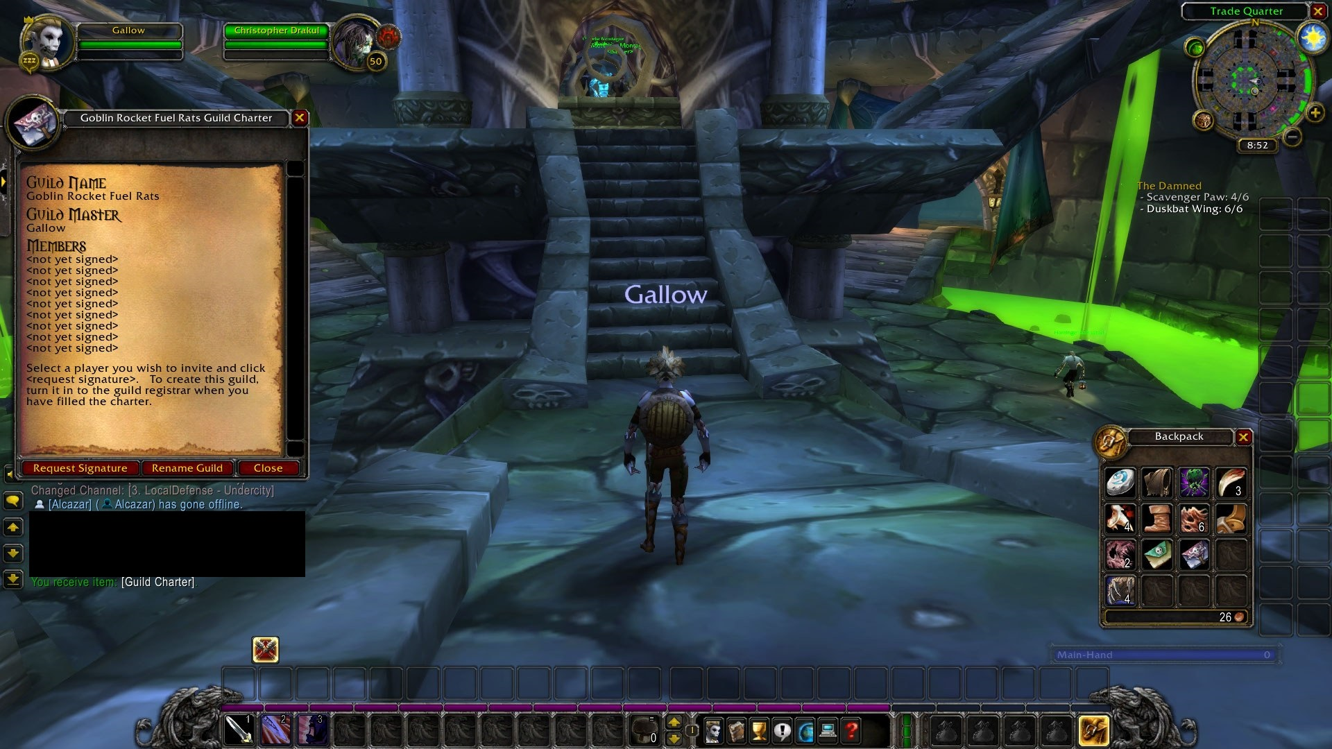 Adventures of Gallow • WoW Classic • Barrens Chat
